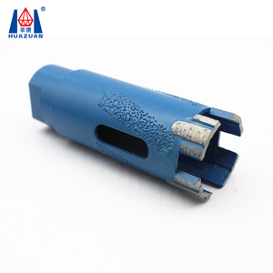Huazuan new design U shape turbo segment diamond dry core drill bit