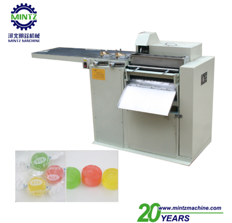 small scale colour flavored hard candy and lollipop making machine with packing