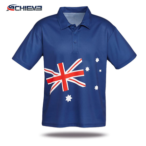 Custom polo t shirts for sublimation printing ,pima cotton fabrics for polo shirt