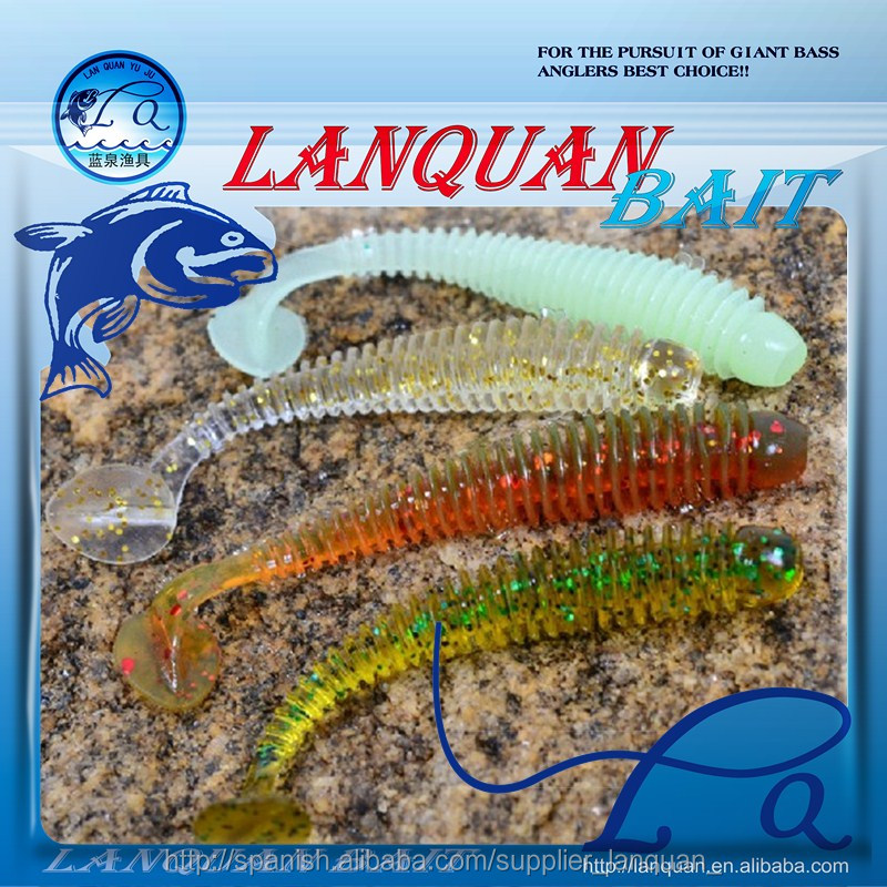 Wholesale supply plastic hot sale soft fishing lure-LQSL1312