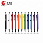 Cheap personalized brand stylus pen metal custom pens with logo