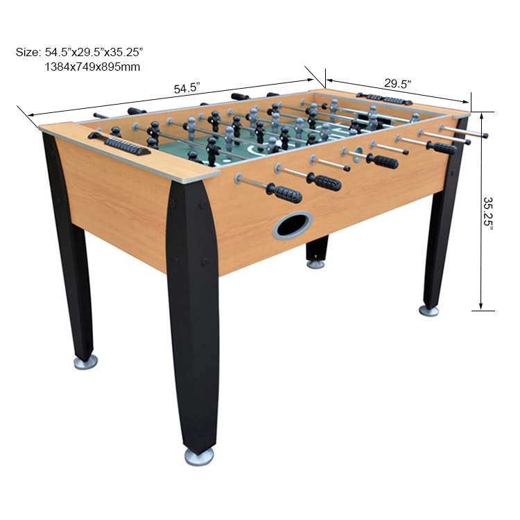 """55"""" Hot selling cheap sportcraft table soccer for sale"""