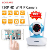 Home Security 720p Wifi IP Camera PTZ Easy Operate P2P Wireless IP Camera