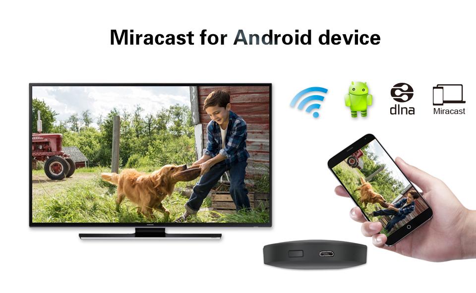 2.4G TRUYỀN HÌNH TRỰC TUYẾN BỞI MIRASCREEN cho ANDROID IOS MAC chiếu màn hình ứng dụng