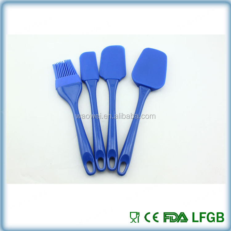 2015 Kitchen Cooking Tools FDA food grade Silicone Spatula Set / Silicone Baking Tools / Silicone Spatula
