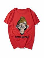 The new fashion logo design custom print men tshirt