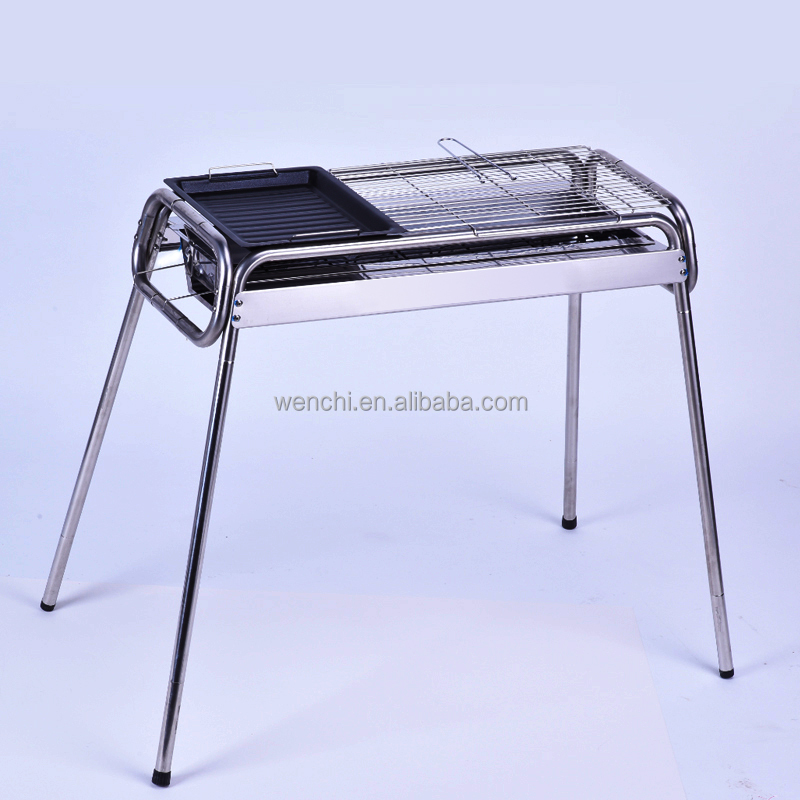 wholesale China market shiny bbq grill,rotating grill bbq oven