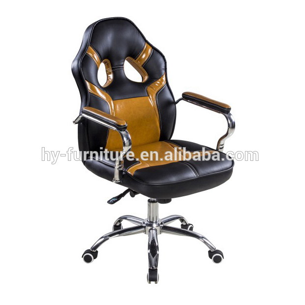 Air conditioned racing leather swivel computer ergonomic executive office chair desk furniture chair price for office desk