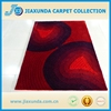 home use hand tufted soft carpets microfiber silk 4D new shaggy rugs with cut pile