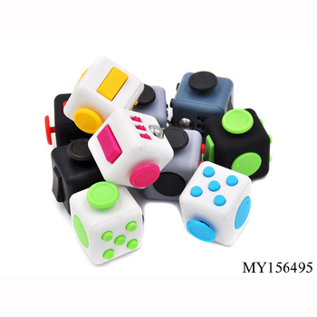 mini dice hand finger cube Stress Release cube Magic Fidget Cube