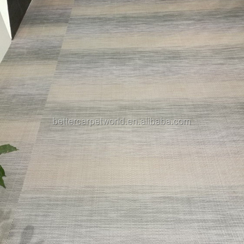 Foshan Flooring Tile Indoor High End Customized Environmental Protection Pvc Materials Colorful Woven Vinyl