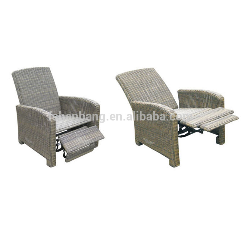 Trendy multi-functional outdoor garden rattan wicker recliners reclining sofa chair  sc 1 st  Alibaba & Trendy Multi-functional Outdoor Garden Rattan Wicker Recliners ... islam-shia.org
