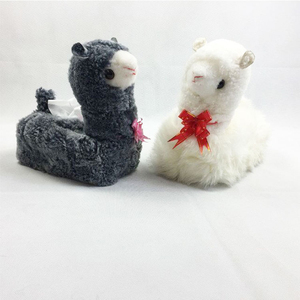 Soft Animal Toys Plush Stuffed Toy Alpaca for Sale Baby Doll