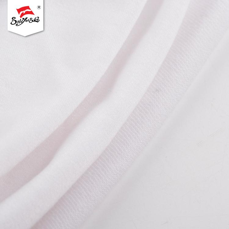 Manufacturer factory custom logo popular fleece tr stretch knitted polyester fabric
