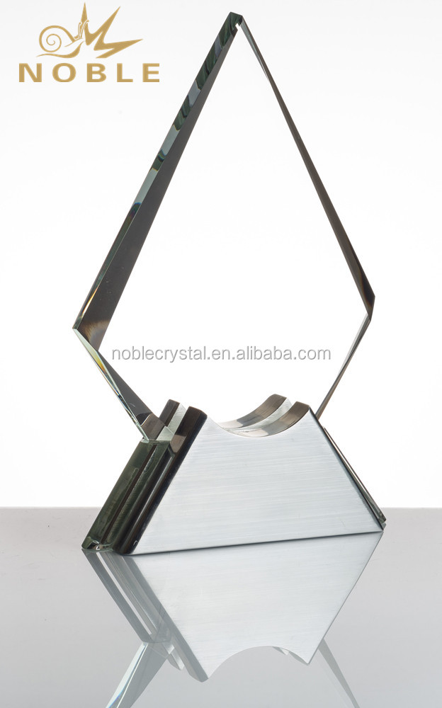 Peak Diamond Shaped Glass Custom Awards