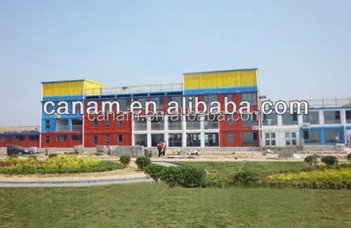 CANAM-Prefab student dormitory container houses for sale