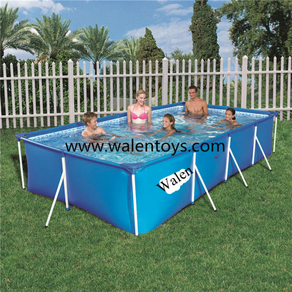 intex rectangular ultra frame swimming pools - Rectangle Inflatable Pool