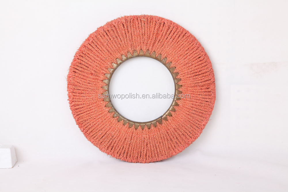 ES001 Eight Strand Sisal Buff for stainless steel cookware polishing