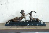 EP-1118 metal art sculpture antique statue statue bronze