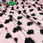 Newest wholesale custom design cheap printed stretch baby flannel fabric