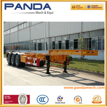 Container Carry Truck/ Truck Chassis Frames/ Working Platform ...
