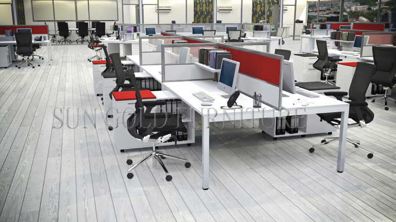 Modern Office Furniture Modular Office Workstation Cubicle Design