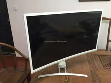 High resolution adjustable height game players 32 inch curved LED monitor