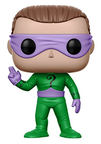101e83a9f73 Get Quotations · Funko POP Heroes DC Heroes Riddler Action Figure (Style  and Color May Vary)