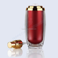 Cylindricall Acrylic Lotion Bottle 15ml,30ml,60ml,100ml Hpk-cosb04 ...