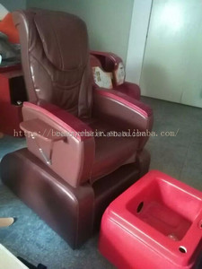 salon spa foot massage pedicure chair hiddenable base and stool