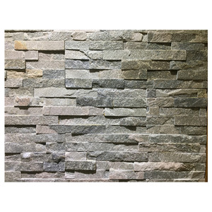 Natural ledge slate wall stone cladding panel