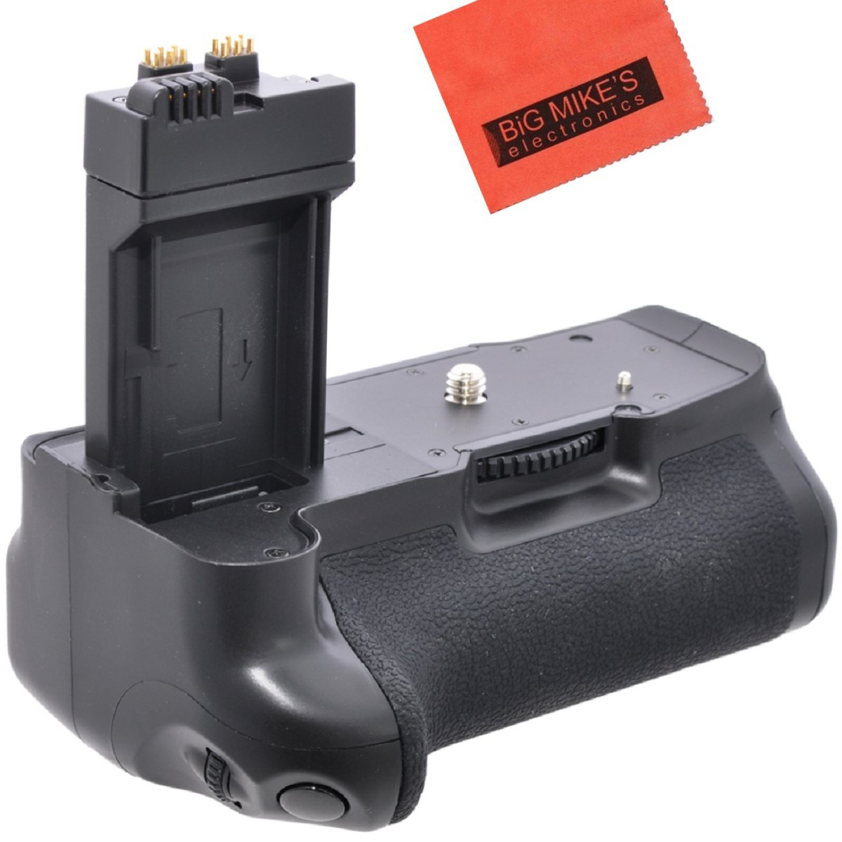 Battery Grip Kit for Canon EOS 1100D, EOS Rebel T6i, Rebel T6s, EOS 750D, EOS 760D, EOS 8000D, KISS X8i Digital SLR Camera (BG-E18 Replacement)