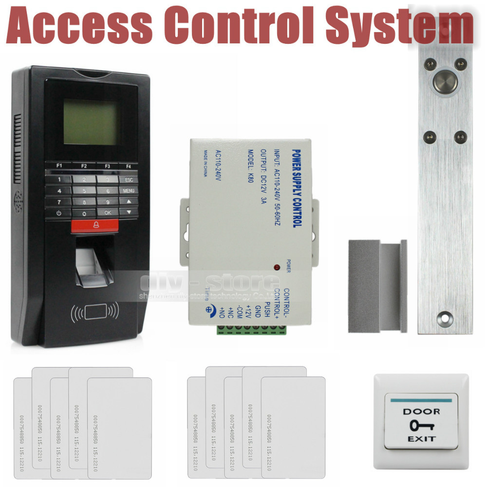 DIY Full Kit Set Fingerprint Id Card Reader Password