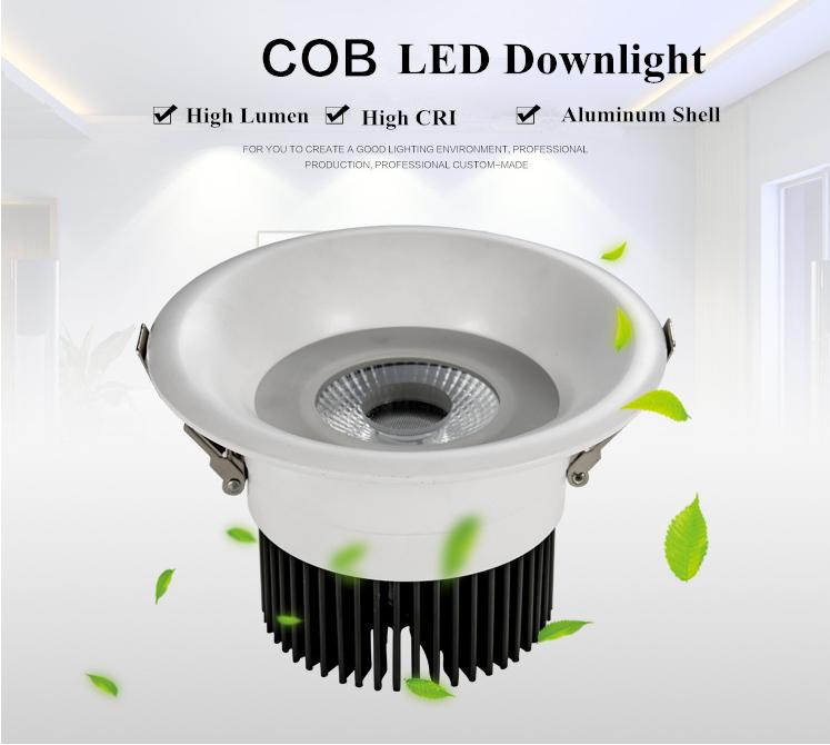 20w Led Downlight Cob Ra 90 Aluminium Case Recessed Led Downlight ...