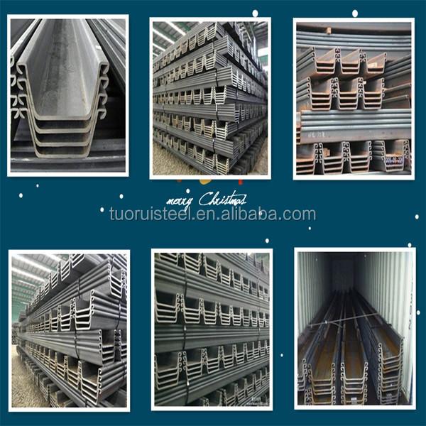 Q235b Hot Rolled Az Steel Sheet Pile
