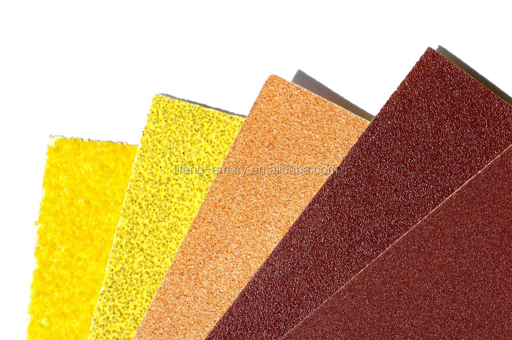 Best selling in India sanding type abrasive paper