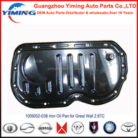 1009052-E06 Oil pan for great wall 2.8TC, Iron