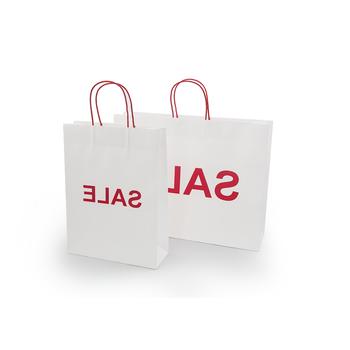 Luxury Kraft Storage Brown Paper Shopping Bag