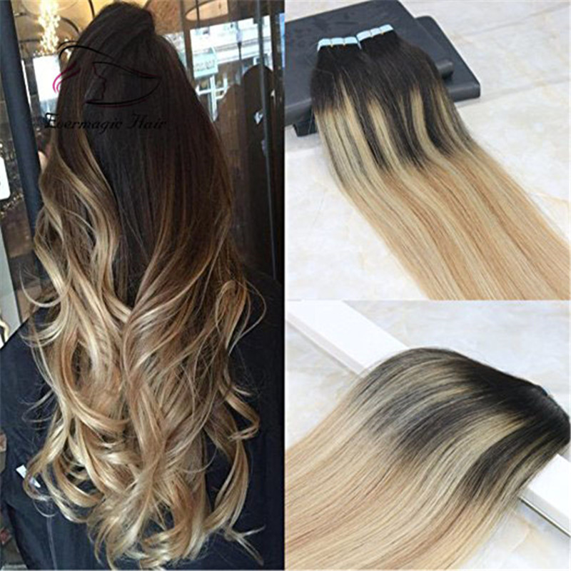 Wholesale Cheap Ombre Balayage Color 2 To 613 Bleach Blonde To 12