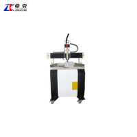 Mach3 controller China hot sale mini cnc engraving machine for small wood advertising ZK-6090