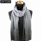 solid cotton 100% ramie scarf
