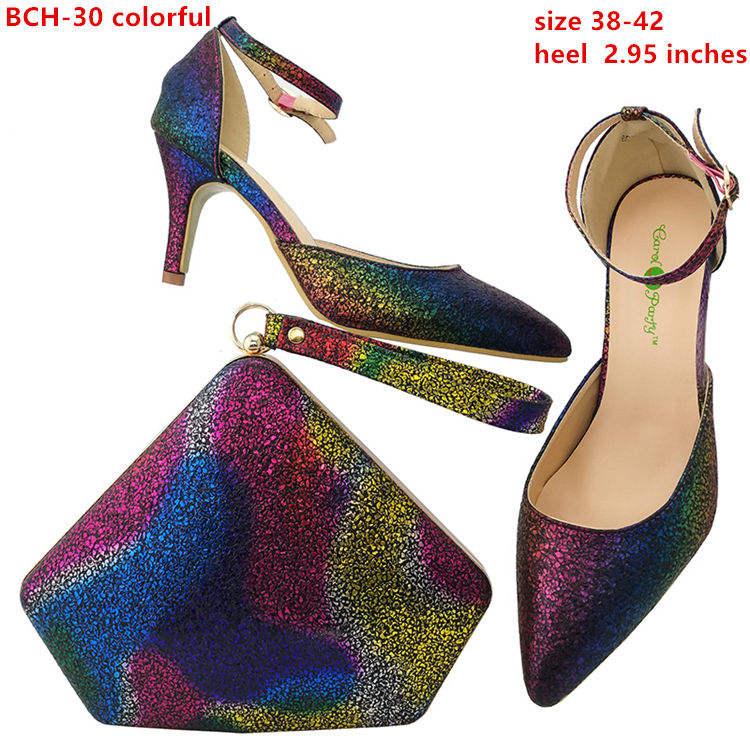 5d0ac47b440 Fashional genuine leather italian shoes and bag sets/elegant green african  shoes and matching clutch
