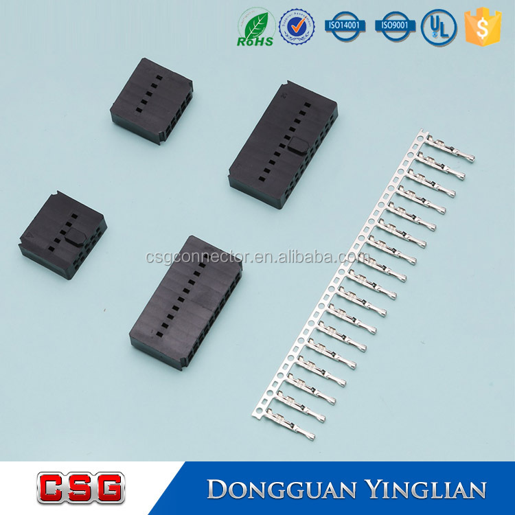 5 pin square electrical connector