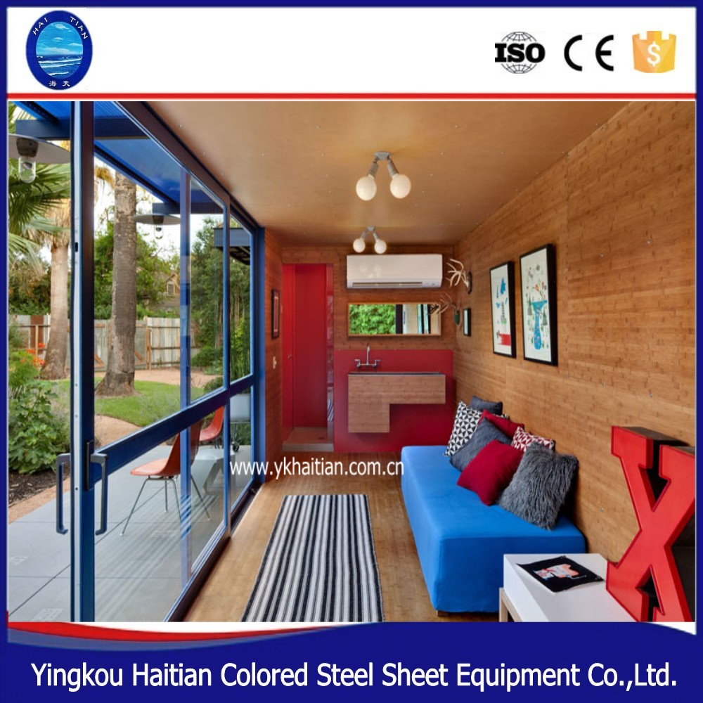container office steel prefab tiny container house for sale mobile flat pack box guard container house