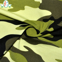 high quality lycra Camouflage fabric for army and swimwear fabric