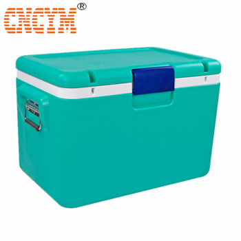 blow molded Ice Cooler Box PU super quality insulation - outdoor /leisure Cooler 85L