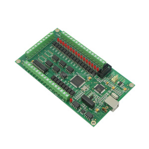 3 Axis CNC USB Card Mach3 200KHz Breakout Board Interface for CNC Milling Machine Windows2000/XP/Vista