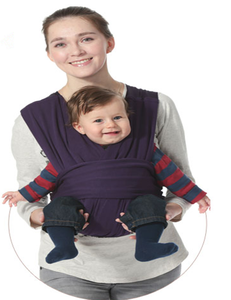 Convenience and Breastfeeding Wrap Baby Carrier