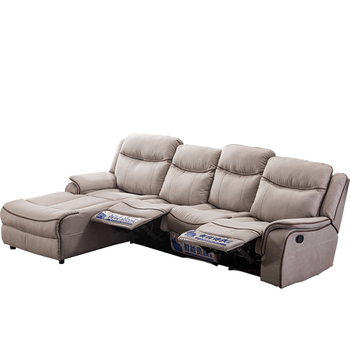 3 Seater Home Theater Sectional Leather