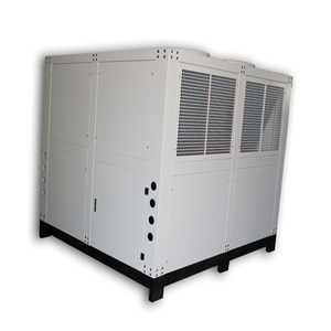 Standard Temperature of Screw Compressor 50 Ton Swimming Pool Heater Water Chiller and Freezer for Aquaculture